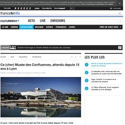 Ce (cher) Musée des Confluences, attendu depuis 15 ans à Lyon