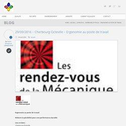 29/09/2016 – Cherbourg-Octeville – Ergonomie au poste de travail