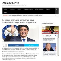 Le Japon cherche à annexer un pays africain en échange au développement