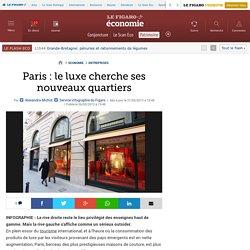 Paris : le luxe cherche ses nouveaux quartiers