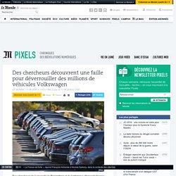 Des chercheurs découvrent une faille pour déverrouiller des millions de véhicules Volkswagen