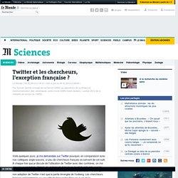 Twitter et les chercheurs, l'exception française ?