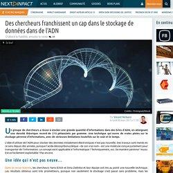 Des chercheurs franchissent un cap dans le stockage de données dans de l'ADN