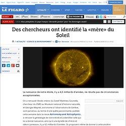Sciences : Des chercheurs ont identifié la «mère» du Soleil