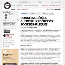 Données libérées, chercheurs débridés, société impliquée » Article » OWNI, Digital Journalism