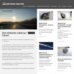 Chercheurs de météorites depuis 2003