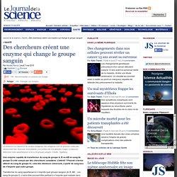 Des chercheurs créent une enzyme qui change le groupe sanguin