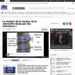 Le mystère de la couleur de la robe enfin résolu par des chercheurs !