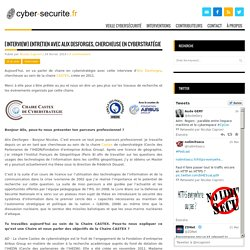 [Interview] Entretien avec Alix Desforges, chercheuse en cyberstratégie