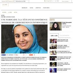 Une Marocaine à la tête d'une conférence mondiale de chercheuses en informatique
