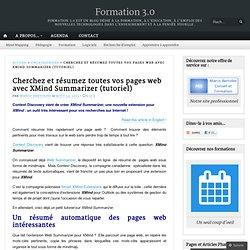 Cherchez et résumez toutes vos pages web avec XMind Summarizer (tutoriel)