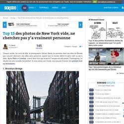 Top 15 des photos de New York vide, ne cherchez pas y'a vraiment personne