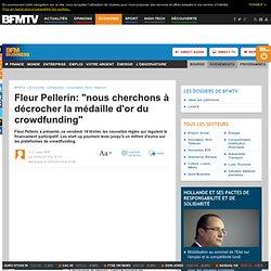 """Fleur Pellerin: """"nous cherchons à décrocher la médaille d'or du crowdfunding"""""""