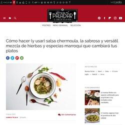 Salsa chermoula, receta de cocina fácil, sencilla y deliciosa