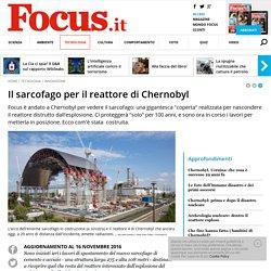 Chernobyl, il sarcofago che ricoprirà il reattore