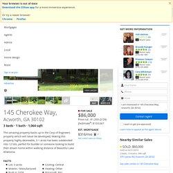 145 Cherokee Way, Acworth, GA 30102 is For Sale