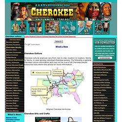 Cherokee Culture