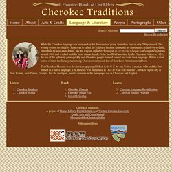 Cherokee Traditions