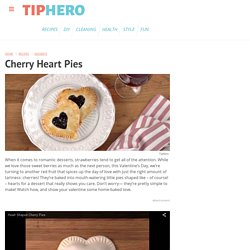 Cherry Heart Pies