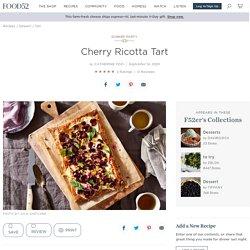 Cherry Ricotta Tart Recipe - Easy Cherry Tart Dessert