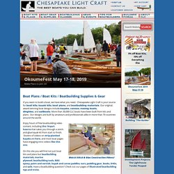 Chesapeake Light Craft | Boat Plans, Boat Kit, Kayak Kit, Canoe Kit, Sailboat Kit, Rowboat Kit, Paddleboard Kit, Boat Plan, Boat Kits, Kayak Kits, Canoe Kits, Sailboat Kits, Rowboat Kits, Paddleboard Kits, Boatbuilding Supplies, Boat Gear and Accessories,
