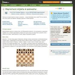 Как играть в шахматы: правила и основы - Chess.com