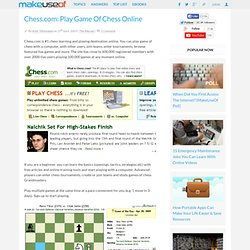 Chess.com: Play Game Of Chess Online