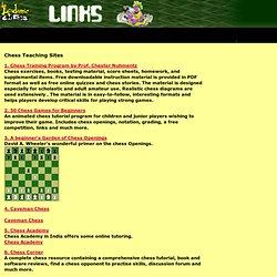 Chess Teaching Sites