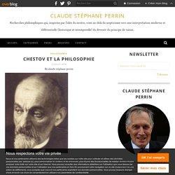 Chestov et la philosophie
