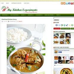Chettinad Chicken Gravy ~ My Kitchen Experiments