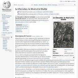 Le Chevalier, la Mort et le Diable - Dürer