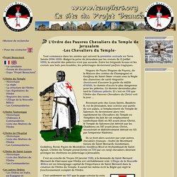 L'Ordre des Chevaliers du Temple de Jerusalem - Les Chevaliers du Temple
