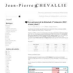Les mécanos de la Générale 1° trimestre 2012 et moi, émoi !