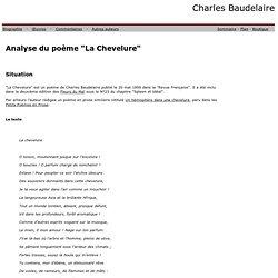 La chevelure, de Charles Baudelaire