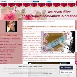 1.c.SOINS CHEVEUX - Page 2 - Les rêves d'Eve : cosmétiques home-made et créations hand-made