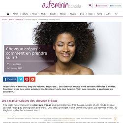Cheveux crépus : Comment prendre soin de ses cheveux crépus ?