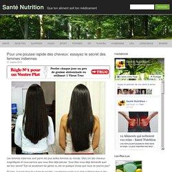 Pour une pousse rapide des cheveux: essayez le secret des femmes indiennes