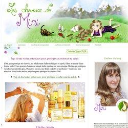 Top 10 des huiles précieuses pour protéger ses cheveux du soleil.