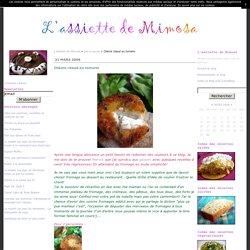 Chèvre chaud au romarin - L'assiette de Mimosa