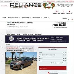 2019 Chevrolet Cruze Hatchback LS in Rosenberg, TX