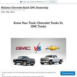 GMC Trucks vs Chevrolet Trucks