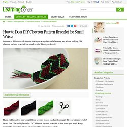 DIY cuff bracelet – Panama hat pattern cuff bracelets for small wrists