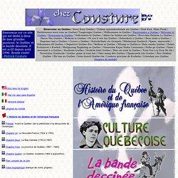 Chez Couture: Québec et BD