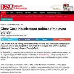 Chez Cora Houdemont culture rime avec plaisir