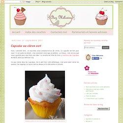 Chez Mélusine: Cupcake au citron vert