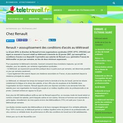 Chez Renault - teletravail.fr