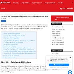 học phí du học philippines