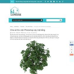 Chia sẻ thư viện Photoshop cây mặt bằng