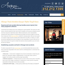 Chicago Truck Accidents Lawyers
