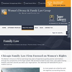 Chicago Family Law Lawyer